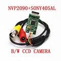 NVP2090 + 405AL B/W CCD камера BNC разъем для домашней камеры безопасности модуль низкой освещенности камера движения медицинская камера i