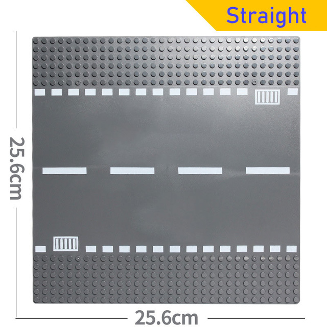 Road Plate Classic Base Plates Compatible LegoINGlys Race Track Baseplates Building Blocks Construction Toys 32*32 Dots