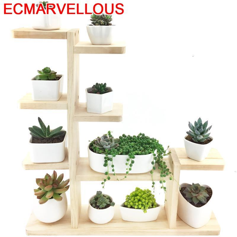 Estanteria Jardin For Escalera Decorativa Madera Repisa Para Plantas Outdoor Flower Shelf Stojak Na Kwiaty Rack Plant Stand