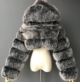 Imitation Fox Fur Coat 1
