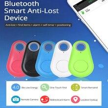 Беспроводной Bluetooth трекер анти-потерянный сигнал тревоги Смарт Tag ребенка мешок бумажника ключ устройство поиска gps-локатор С Бесплатное мобильное приложение контроля