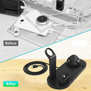 Image 4 - FDGAO Charging Dock Station Bracket Stand Holder For iPhone 11 Pro X XR XS MAX 8 7 6S For Apple Watch Series Airpods USB Charger