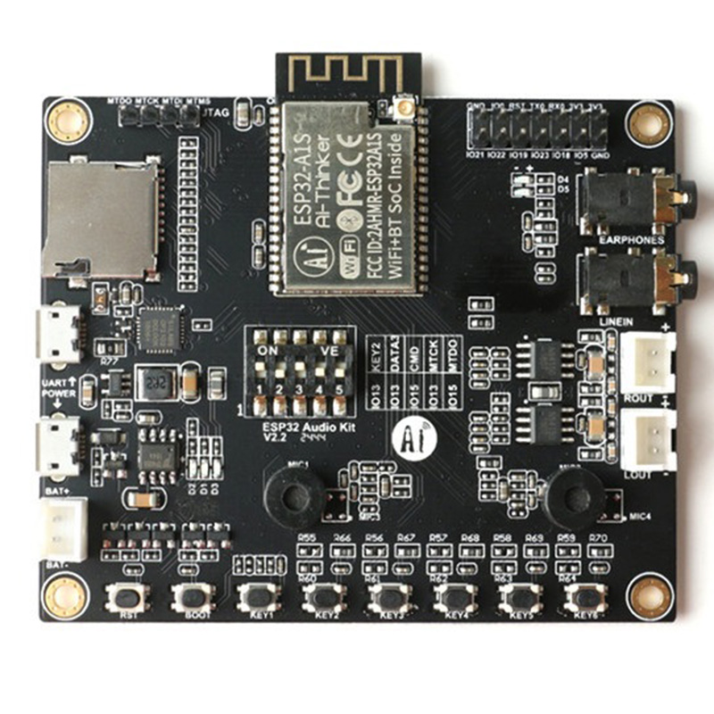 ESP32-Audio-Kit ESP32 Audio Development Board WiFi Bluetooth Module Low Power Dual-Core With ESP32-A1S 8M PSRAM Serial To WiFi