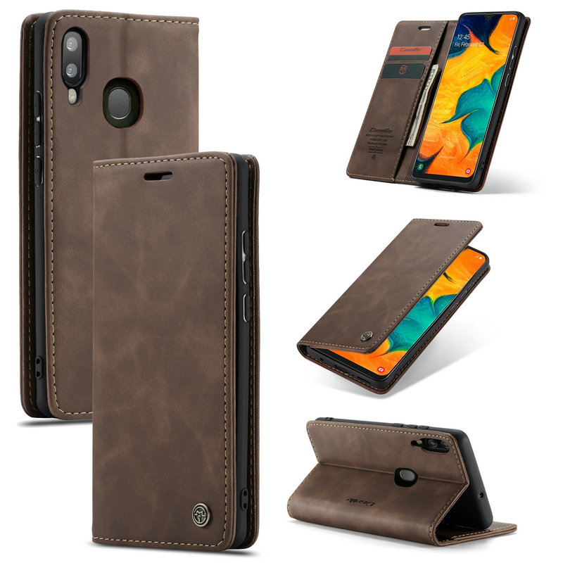 Book <font><b>Leather</b></font> <font><b>Case</b></font> For <font><b>Samsung</b></font> <font><b>Galaxy</b></font> A30 A40 <font><b>A50</b></font> A70 Luxury Retro <font><b>Wallet</b></font> <font><b>Stand</b></font> <font><b>Flip</b></font> Cover For <font><b>Samsung</b></font> M10 M20 Magnet <font><b>Case</b></font> image