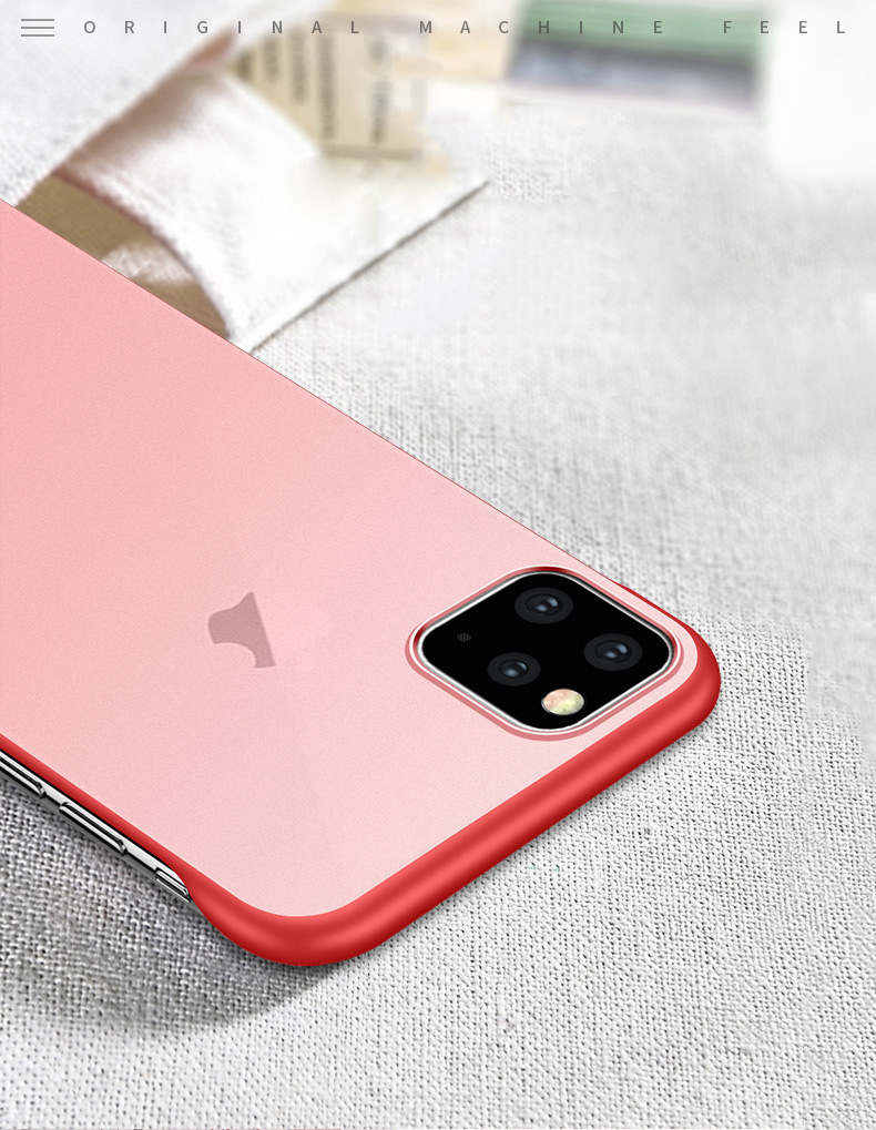 Frameless Slim Matte Hard Back Cases for iPhone 11/11 Pro/11 Pro Max 40
