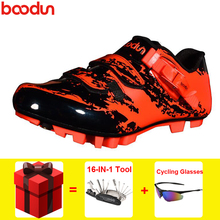 BOODUN cycling shoes sapatilha ciclismo mtb ultralight Mountain bike Locking Outdoor sports bicycle professional Riding shoes boodun breathable mountain cycling shoes leisure sports outdoor mtb road bike bicycle lock riding shoes women