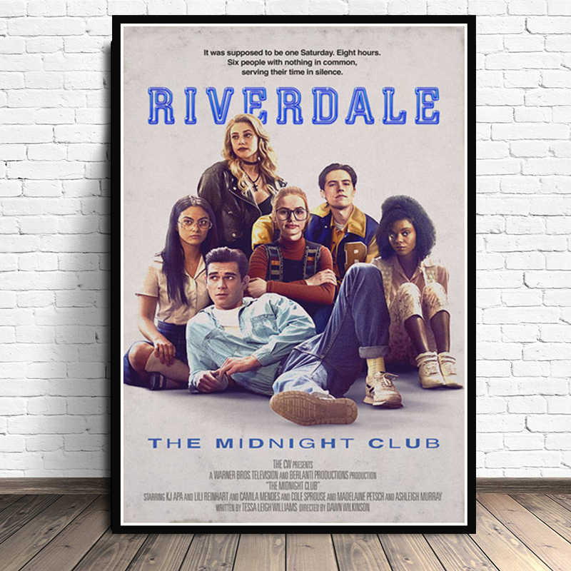 Movie Gift Riverdale Season 3 Tv Series Show Art Poster Prints  Light Canvas Wall Painting Picture For Room Home Decor