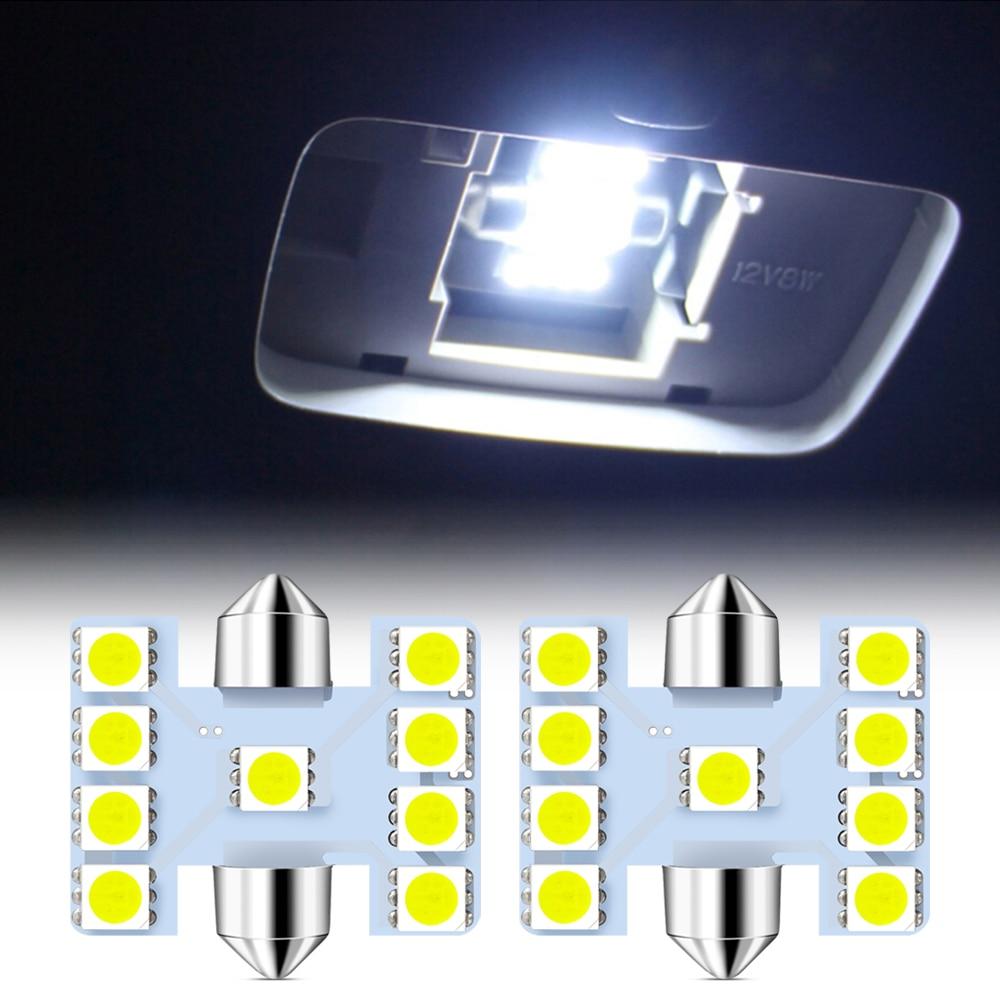 Автомобильный Подсветка салона 31 мм светодиодный лампа для чтения для fiat punto abarth 500 stilo ducato palio bravo