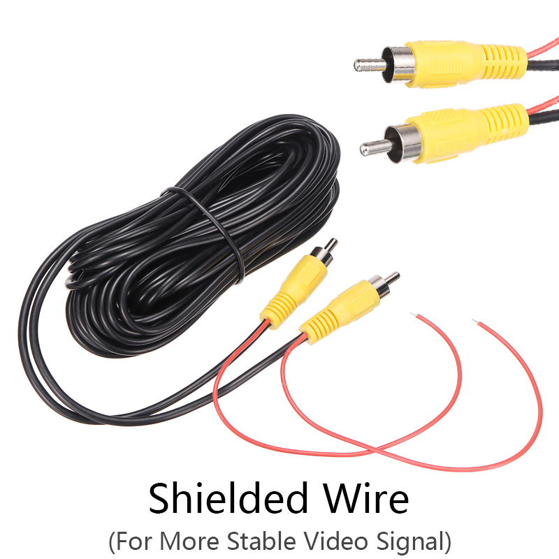 1pc Auto Video Kabel 10M RCA Reverse Rückansicht Backup-Kamera Video Kabel Parkplatz Verlängerung Draht Zubehör