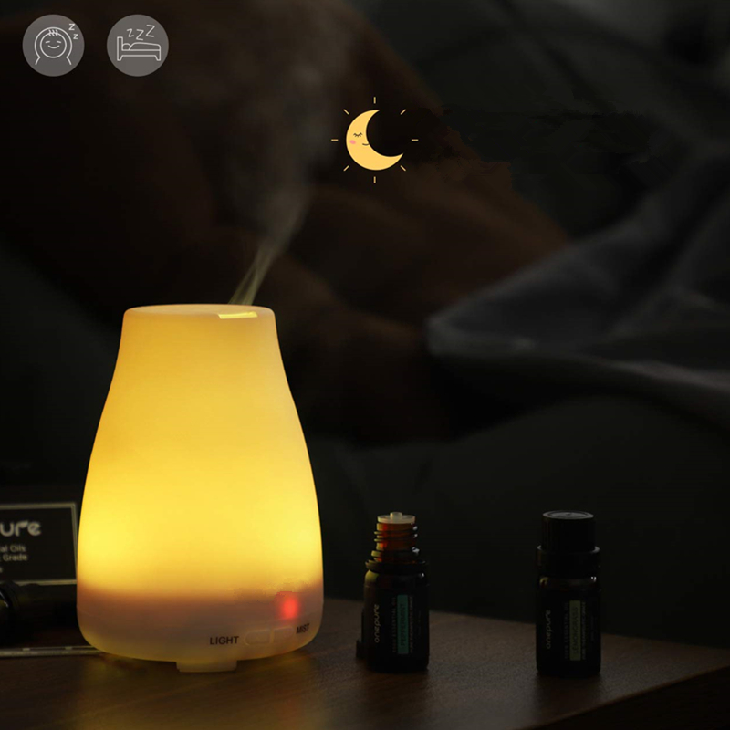 Essential Oil Aromatherapy Diffuser Natural Ultrasonic Cool Mist Diffusion For All Your Aroma Oils-Easy To Use For A Home