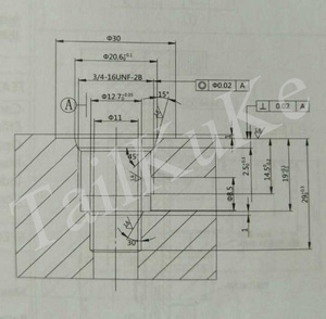 Image 5 - Hydraulic Lifting Power Unit Manual Two position Two pass DHF08 220H Insert Solenoid Valve with Normally Closed Thread