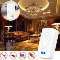 Ultrasonic Pest Repeller Radiation-free Expelling Mouse Insects Garden Warehouse Household Pest Control Supplies EU/US/AU Plug