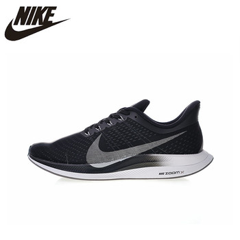 Original New Arrival Authentic Nike Zoom Pegasus Turbo 35 Men's Sport Outdoor Running Shoes Sneakers Good Quality AJ4114-001 цена 2017