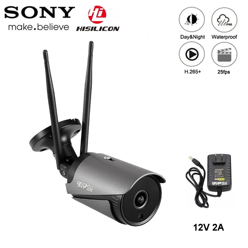 5MP/3MP 36pcs infared Black H.265 ICsee 25fps 128G ONVIF Audio Two Antenna Waterproof WIFI Wireless IP Camera Free Shipping-in Surveillance Cameras from Security & Protection