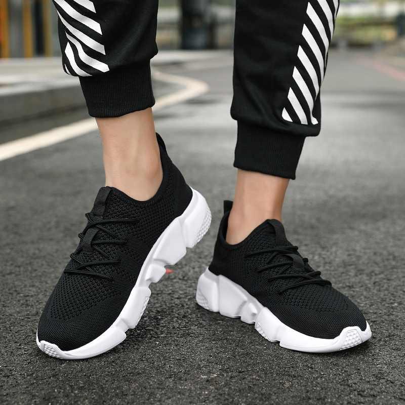 รองเท้าแตะชาย Breathable ตาข่ายรองเท้าสบายๆ 2019 ฤดูร้อนใหม่แฟชั่นชายรองเท้า Sandalias De Hombre ผู้ชายรองเท้า