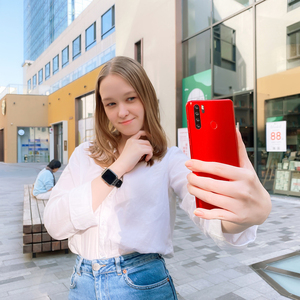 Image 2 - Blackview A80 Pro глобальная версия 4 аппарат не привязан к оператору сотовой связи Quad сзади Камера мобильный телефон 6,49 в виде капли воды, 4 Гб + 64 Гб Octa Core Android 9,0 мобильных телефонов