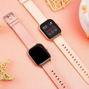 Image 5 - COLMI P8 2020 akıllı saat erkekler kadınlar spor saati kalp hızı kan basıncı monitörü IOS için akıllı saat Android