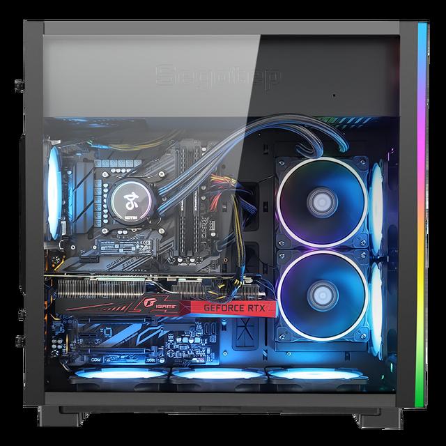 Kotin Intel Core i9 10900K 3.7GHz Gaming PC Desktop Z490 RTX 3080 OC 10G RAM 16GB Computer Water Cooling
