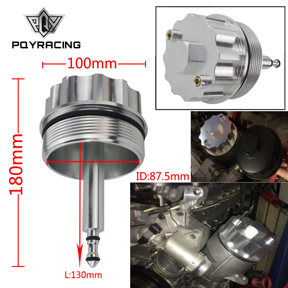 PQY-Adapter Abdeckung Kappe für Öl Filter Gehäuse 323 E36 323i/328i E39 523i/528i E46 328 PQY-CAP01