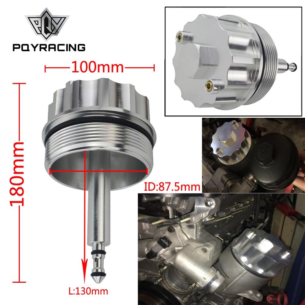 Tapa de la cubierta del adaptador PQY para la carcasa del filtro de aceite 323 E36 323i/328i E39 523i/528i E46 328 PQY-CAP01