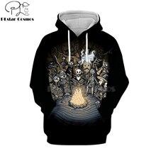 PLstar Cosmos nightmare before christmas jack skellington 3d hoodies/shirt/Sweatshirt Winter Christmas Halloween streetwear-8
