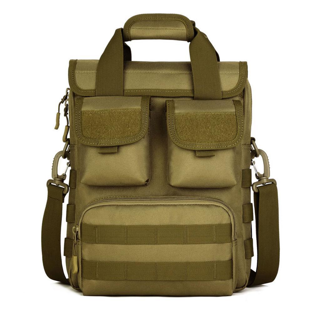 Men Handbags Waterproof 1000D Nylon Travel Military Shoulder Messenger Bag Briefcase Handbags