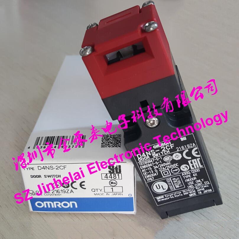 Nouveau et original D4NS-2CF interrupteur de porte OMRON interrupteur de verrouillage de porte de sécurité 1NO 2NC