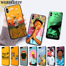 WEBBEDEPP tyler the creator Silicone soft Case for iPhone 5 SE 5S 6 6S Plus 7 8 11 Pro X XS Max XR