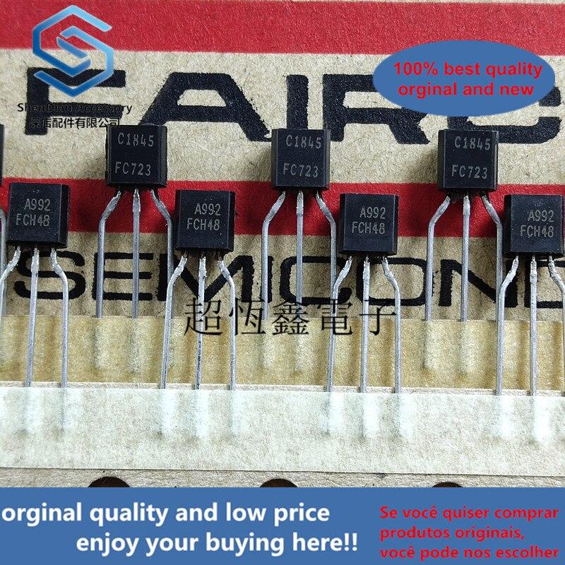 10pcs 100% Orginal New 2SA992 2SC1845 A992 C1845 F Real Photo