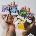 100 шт. Four Seasons наклейки с цветами декоративные наклейки цветет серии наклейки для Diy Украшение для дневника ноутбуки для скрапбукинга