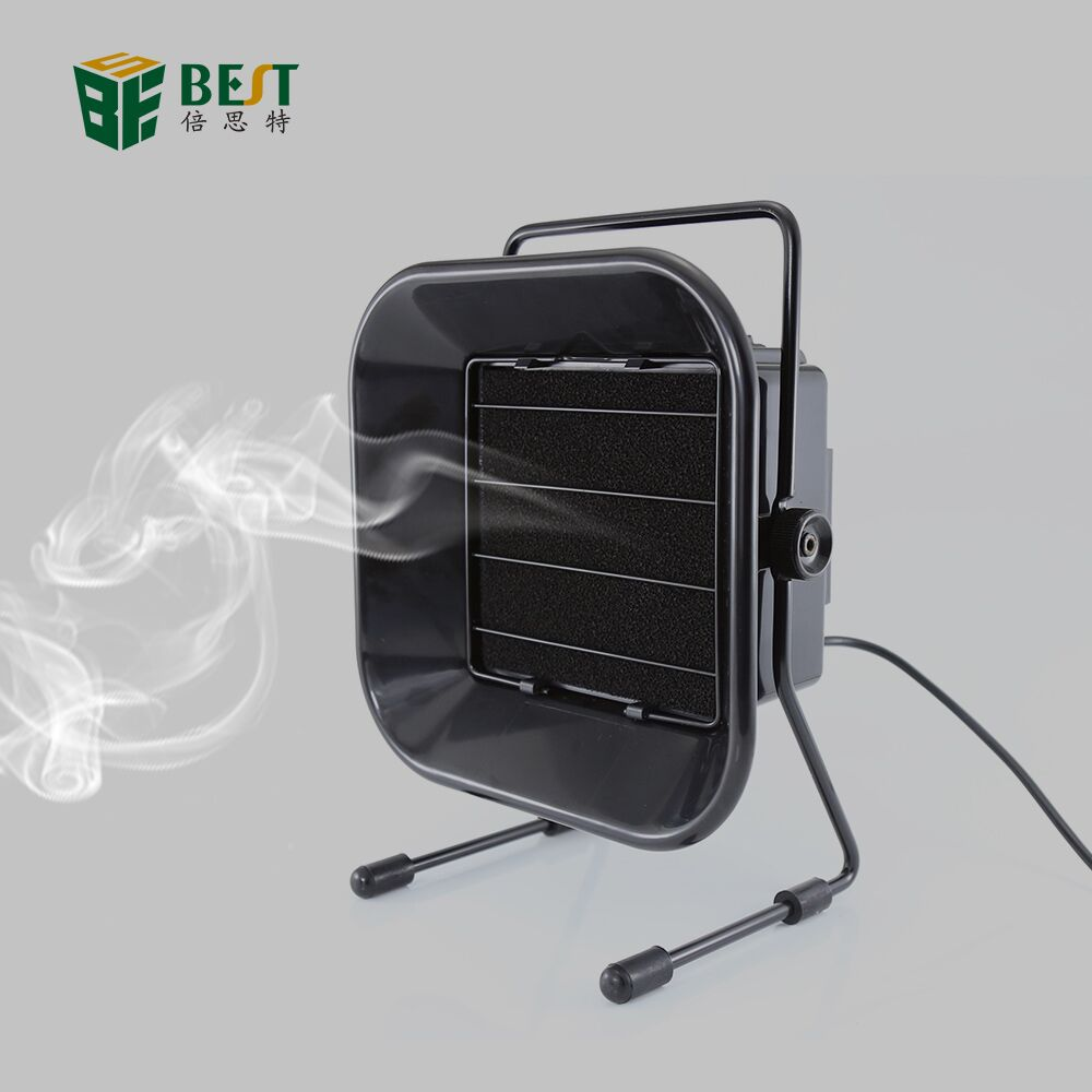 BST-493 Professional 30W Solder Iron 110 220V ESD Smoke Absorber Fume Extractor Air Filter Smoker Fan Tool Practical Instrument