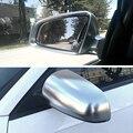 Матовый хром боковое зеркало крышка корпуса Кепки Корпус крышка чехол для Audi A4 B6 B7 A6 C6 (2003-2007) S4