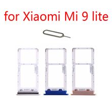 SIM Card Tray Adapter For XIAOMI Mi 9 Lite 9lite Original Mo