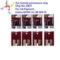 SB51 пигмент Постоянный чип для Mimaki JV3 JV5 принтер пигмент Постоянный чип SB51 совместимый для Mimaki JV3 JV5 принтер