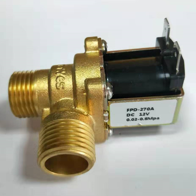 Hot DC 12V DN15 G1/2 Brass Electric Solenoid Valve Normally Closed Water Inlet Switch with Filter