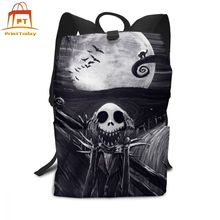 Jack Skellington Backpack Jack Skellington Backpacks Men's – Women's Pattern Bag Sports High quality Teen Bags