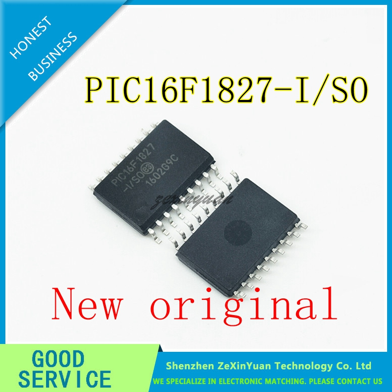5PCS-50PCS PIC16F1827-I/SO PIC16F1827 SOP18 New Original