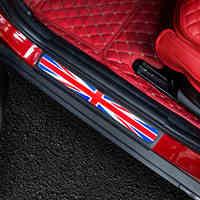 크리스탈 에폭시 잭 도어 씰 Welcome Plate 페달 풋 보드 스티커 MINI Cooper F54 Clubman F55 F56 F60 R60 Countryman