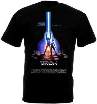 Tron plakat filmowy męskie Rock t-shirty moda t-shirty Runes T-Shirt strażak t-shirty Airborne rosja Awtfdi