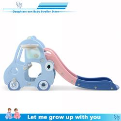 2019 new children slide Childrens home indoor birthday toys with widening lengthening, thickening and folding a small slide