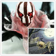 Halloween Scary Taro Spider Simulation Props Family Ghost House Bar KTV Horror Decoration Props цена и фото
