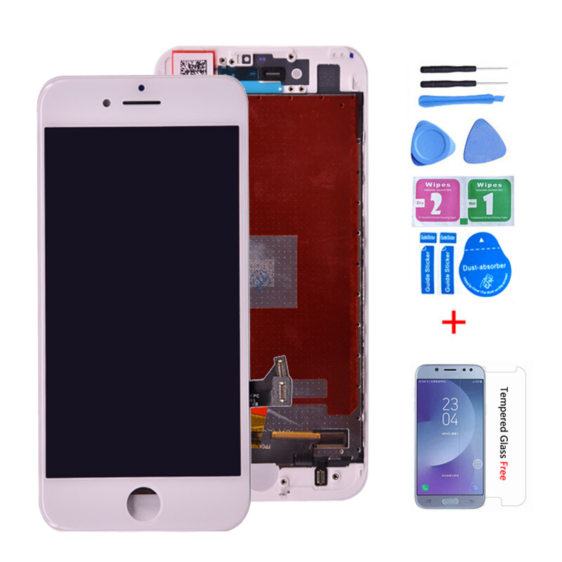 For iPhone 7 LCD Display and Touch Screen Digitizer Assembly Black White 4.7 inch A1660 <font><b>A1778</b></font> lcd Quality AAA No Dead Pixel image
