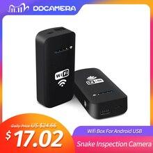 Boîtier sans fil 2018 Wifi, pour caméra Endoscope USB, Android, appareil photo pour Inspection de serpent, compatible IOS, PC