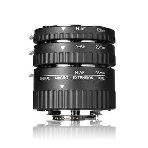 Image 2 - MK N AF A オートフォーカスマクロ延長チューブリングニコン D60 D90 D3000 D3100 D3200 D5000 D5100 D5200 D7000 D7100 カメラデジタル一眼レフナフ