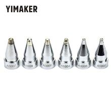 Yimaker A1002 A1003 A1004 A1005 A1006 A1007 6個はんだ銃リーダーはんだhakko 802 808 809 807 817