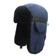 Outfly Bomber chapeaux hiver chaud plus épais trappeur chapeau pour hommes et femmes en plein air Ski chapeau russie chasse chapeaux