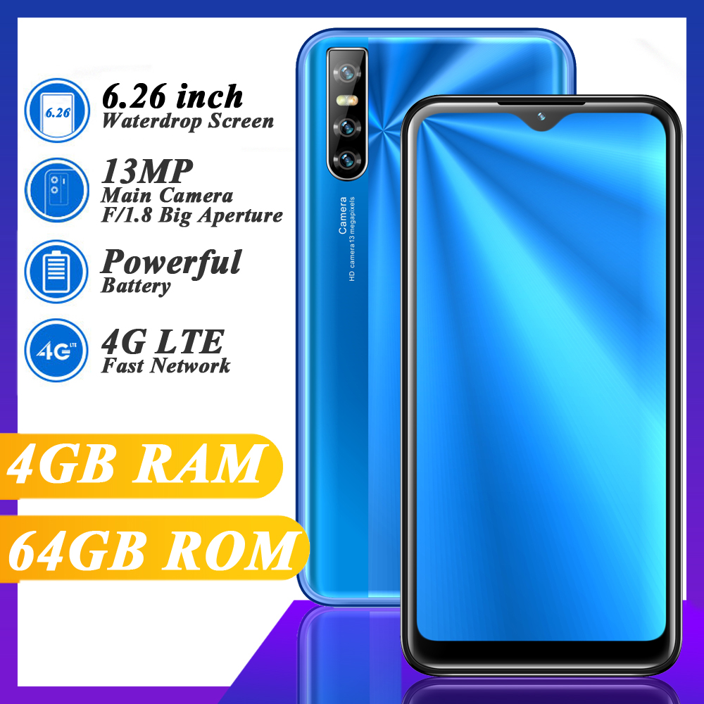 Смартфон Note12 Pro, 4G, LTE, Wi-Fi, 4 + 64 ГБ, 13 МП, Android