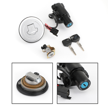 Artudatech Ignition Switch Fuel Gas Cap Lock Keys Set For Honda CBR250R CBR300R CBR 250R 300R 2011 2012 2013-2018 Accessories
