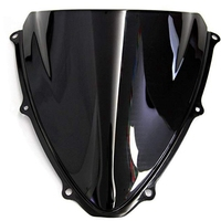 Windshield for Suzuki GSXR 600 750 K6 2006 2007 GSXR600 GSXR750 Double Bubble Windscreen Wind Deflector Wind Splitter