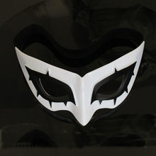 Jogo persona 5 herói arsene coringa máscara cosplay abs olho remendo máscara kurusu akatsuki cosplay prop role play máscara halloween festa cos